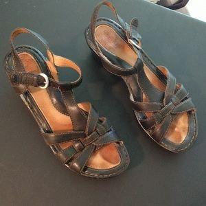 Born sandals in Black